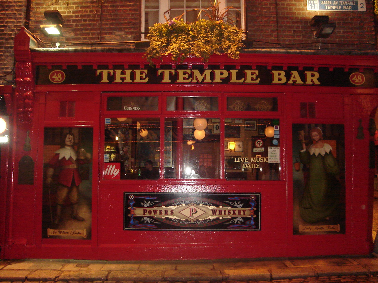 Dublin entdecken Temple Bar