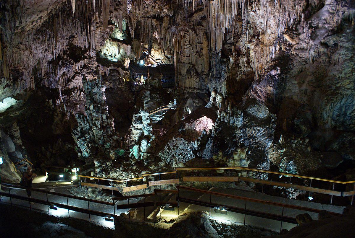 curso de español: excursion en las cuevas